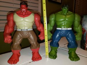Red and Green Hulk 9inch for Sale in Sylmar, CA