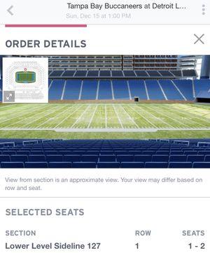 Detroit Lions Tickets for Sale in Grand Rapids, MI