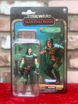 Star Wars The Mandalorian The Black Series CARA DUNE 6 Inch Scale Credit Collection Action Figure for Sale in San Pedro, CA