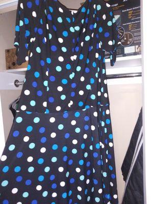 Blue polka dot dress for Sale in Philadelphia, PA
