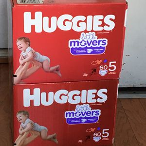 HUGGIES SIZE 5 120 pañales for Sale in Carson, CA
