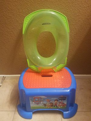 Step & Potty training seat for Sale in Las Vegas, NV