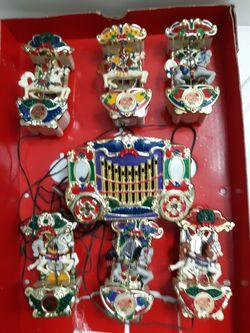 Vintage Musical Christmas carousel for Sale in Valley Grande,  AL