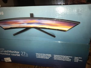 Samsung Curved Monitor 27inch for Sale in Streamwood, IL