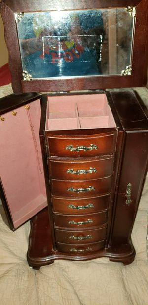 Jewelry box and accessories for Sale in Saginaw, TX