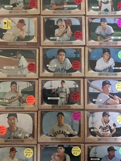 ** (50) 1955 BOWMAN BASEBALL CARDS * RARE SET * VG-EX CONDITION * for Sale in Walnut Creek,  CA