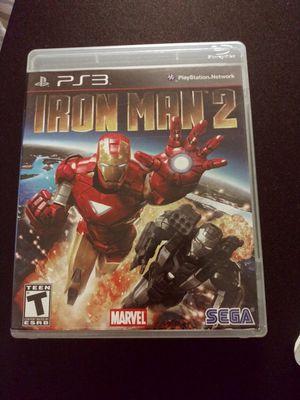 Iron Man 2 ps3 for Sale in Stockton, CA