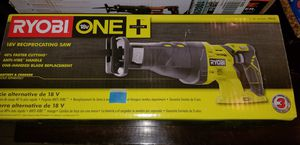 Brand new Ryobi 18V Recipprocating Saw for Sale in Tolleson, AZ