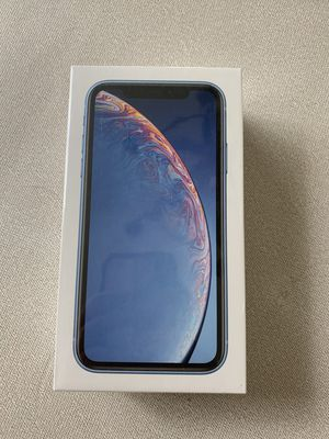 Brand new Sealed iPhone XR 128g BLUE for Sale in Irvine, CA