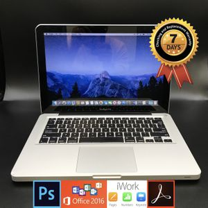MacBook Pro (13-inch, Mid 2012) Intel i5 2.5GHz, 16GB Ram, 512GB SSD Mojave OS for Sale in Glendale, CA