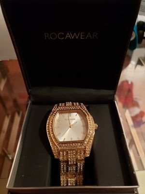 Rocawear gold watch for Sale in York, PA