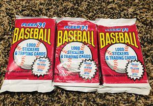 Fleer 1991 baseball cards for Sale in Sun City, AZ
