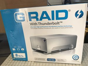 G RAID with Thunderbolt - 8TB for Sale in San Jose, CA