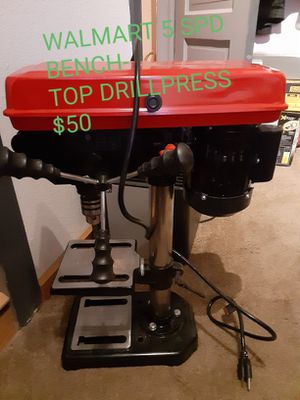 Walmart benchtop drill press for Sale in Yakima, WA