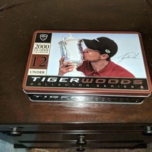 Tiger Woods 2000 US Open win Collector Series Golf Tin for Sale in Lakewood, WA