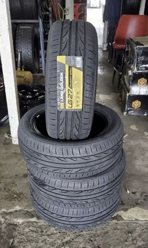 215/55/17 new tires for $320 with balance and installation we also finance {contact info removed} Dorian 7637 airline dr houston TX 77037 for Sale in Houston, TX