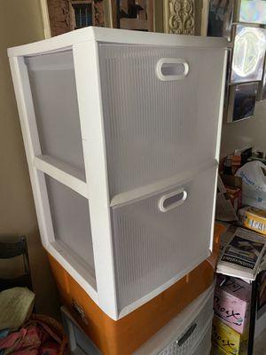 Plastic storage drawers for Sale in Tamarac, FL