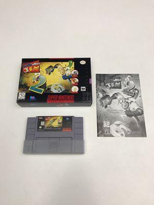 Earthworm Jim 2 Super Nintendo SNES for Sale in Snohomish, WA