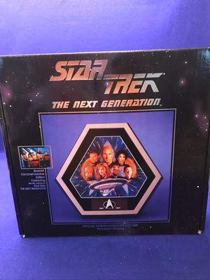 STAR TREK NEXT GENERATION PLAQUE for Sale in Davidson, NC