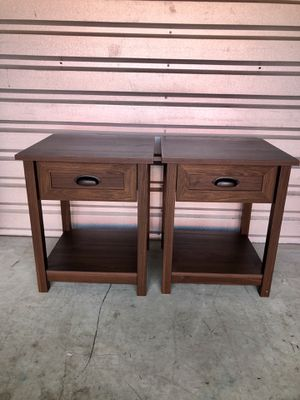 Small Brown Night Stands / End Tables for Sale in Valrico, FL