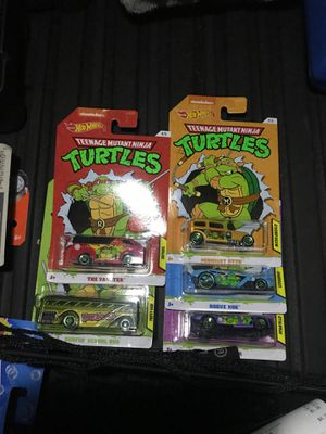 Hot wheels ninja turtles full condition for Sale in Monterey Park, CA