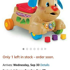 Fisher-Price Laugh & Learn Stride-to-Ride Puppy for Sale in Dallas, TX