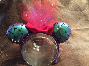 Disney mickey ears, Ariel inspired. for Sale in Palo Alto, CA