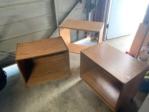 Side tables and tv stand for Sale in Dinuba, CA