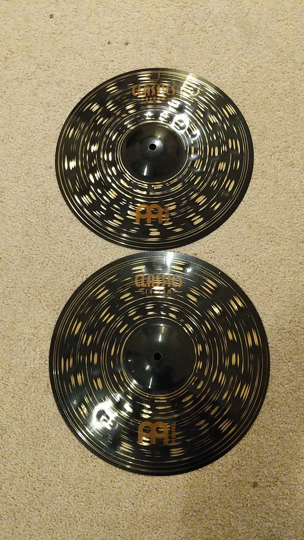 Meinl Classic Custom Dark Hi-Hats (14 in.)