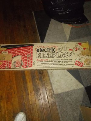 Vintage Electric Fireplace for Sale in Columbus, OH