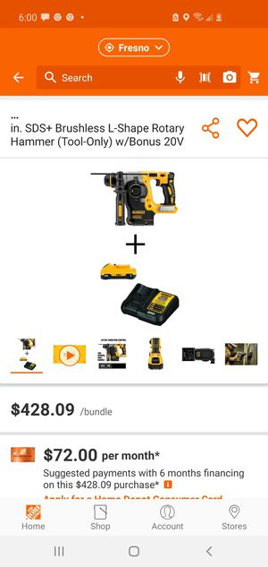 Dewalt rotary hammer for Sale in Fresno, CA