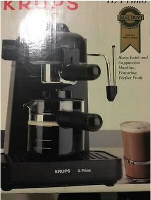 Krups set cappuccino and latte maker with coffee grinder for Sale in Silver Spring, MD
