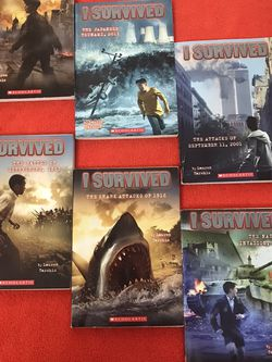 """""""I Survived"""" Series Of Books For Children for Sale in Fort Lauderdale,  FL"""
