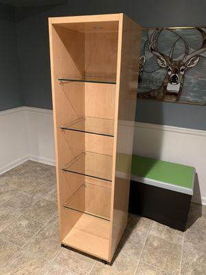 Italian Bookcase Display Shelf on Wheels for Sale in Purcellville, VA
