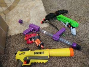 Nerf Guns, missing bullets for Sale in Maricopa, AZ