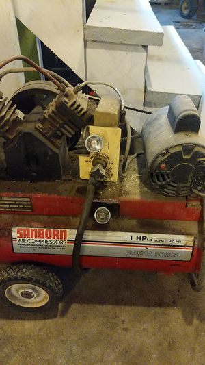 Sanborn air compressor for Sale in Norwalk, OH