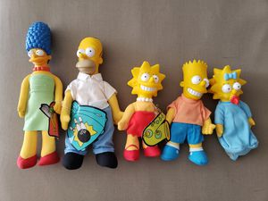 Simpsons Family Stuffed Plush Vintage 90's for Sale in Pembroke Pines, FL