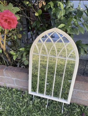 Antique Mirror iron with hooks heavy $50 for Sale in San Bernardino, CA