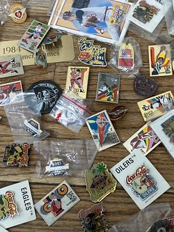 Lot Of Sports And Motorcycle Biker Pins for Sale in Santa Fe Springs,  CA