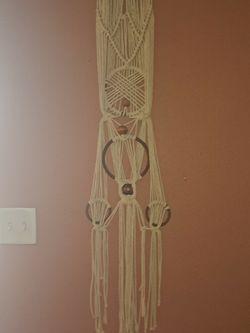 Handmade Macrame Tapestry Rare Find for Sale in St. Petersburg,  FL