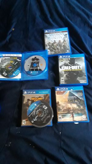 Selling ps4 games all together one price for Sale in Denver, CO