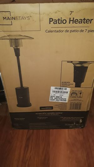 Mainstays patio heater 7ft for Sale in San Diego, CA