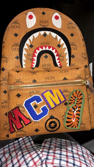 MCM x Bape Collab Backpack 🎒 Super Rare for Sale in San Francisco, CA