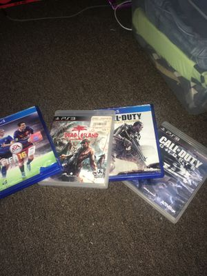 4 video games 2 ps4 2 ps3 for Sale in Long Beach, CA