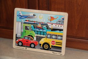 Melissa and Doug Vehicle Jigsaw Puzzle $5 for Sale in Stockton, CA