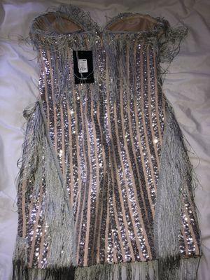 Sequin/ Fringed Fashion Nova Dress for Sale in Fontana, CA