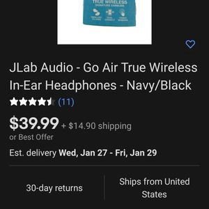 J lab Go air true wireless Earbuds for Sale in Chino, CA