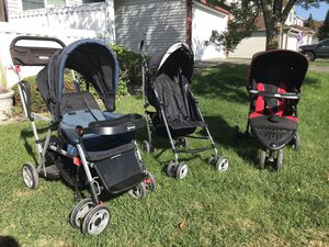 3 strollers (umbrella, jogging, sit and stand double) $10 each for Sale in Saint Paul, MN