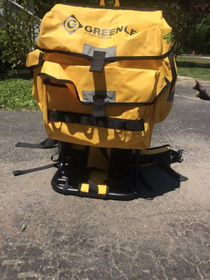 Greenlee gator utility backpack for Sale in Torrington, CT
