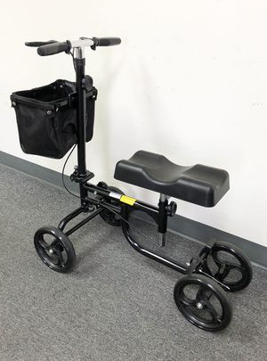 New $95 Steerable Knee Walker Scooter w/ Basket Rolling Wheel Handlebar Max Weight: 300lbs for Sale in South El Monte, CA